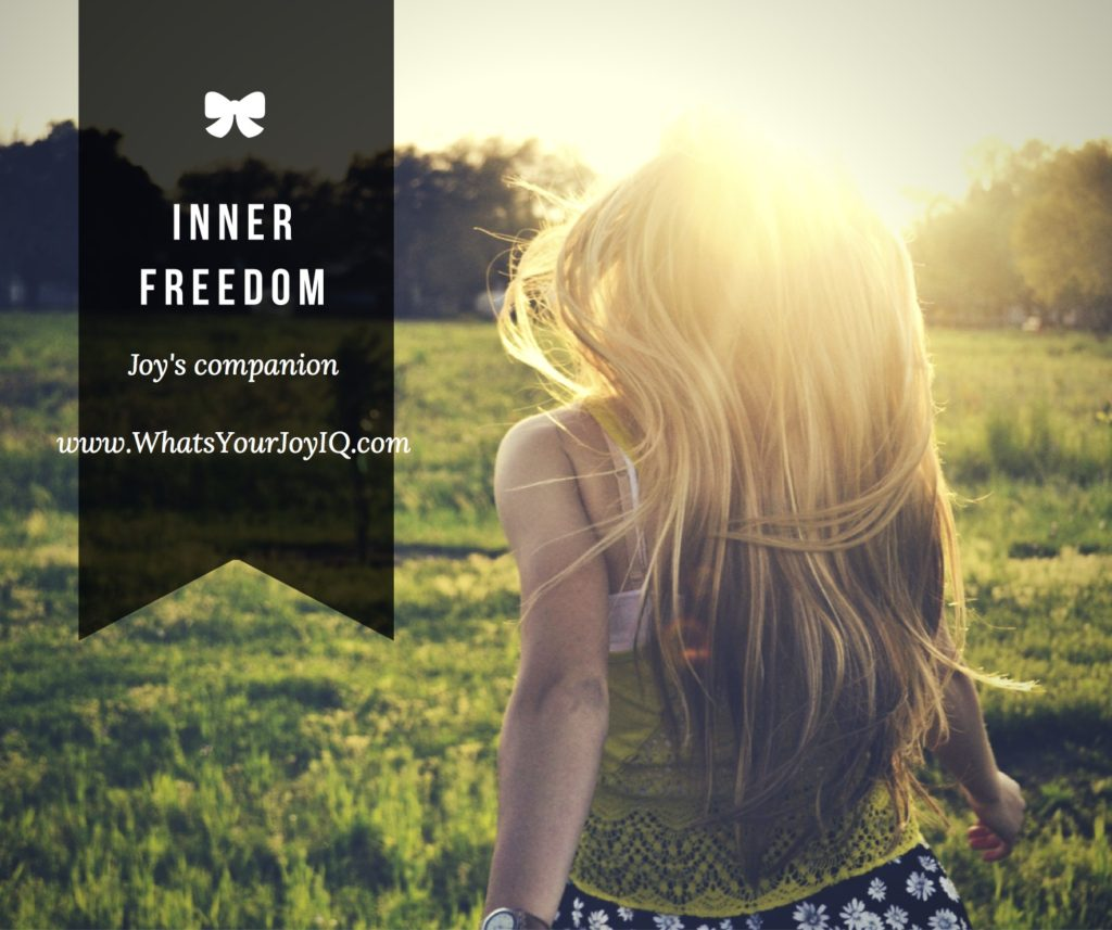 Joy Quote-Inner Freedom