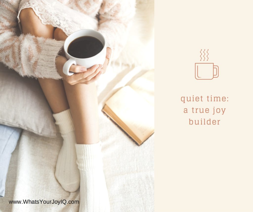 joy quote-quiet time a joy builder