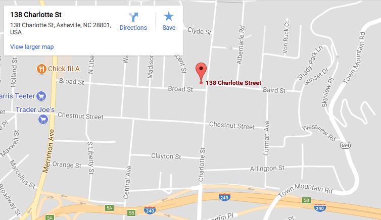138 Charlotte Street Asheville NC 28801